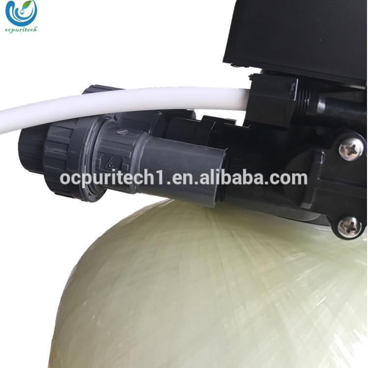 Standard water softner with water softner control valve for hard water softner