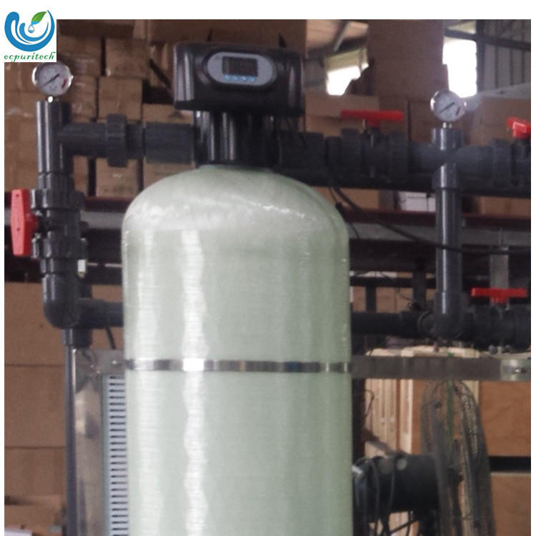 Ion Exchange Water Softening Plant for Boiler Water