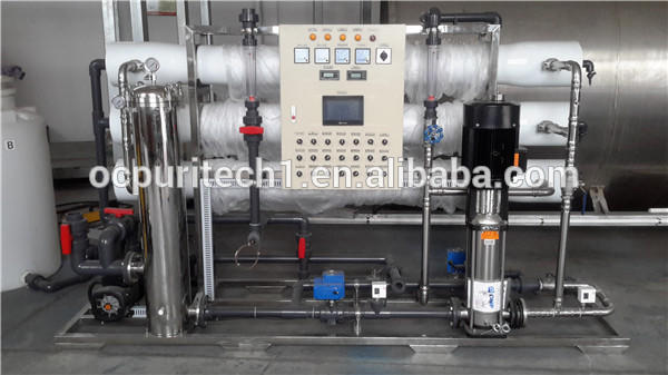 Hot selling 6000 liter per hour antiscalantreverse osmosis water treatment system