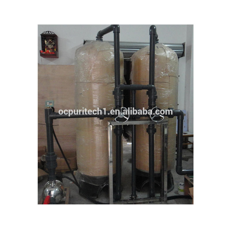 6TpH Manual Control Multi medium filter and carbon filter of RO system