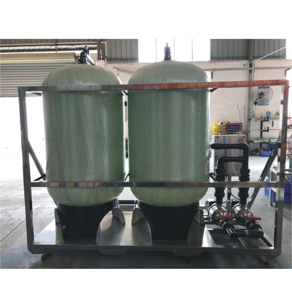 36''72'' FRP Pressure Tank/ Vessel Sand and Carbon Filter System 10M3/hr