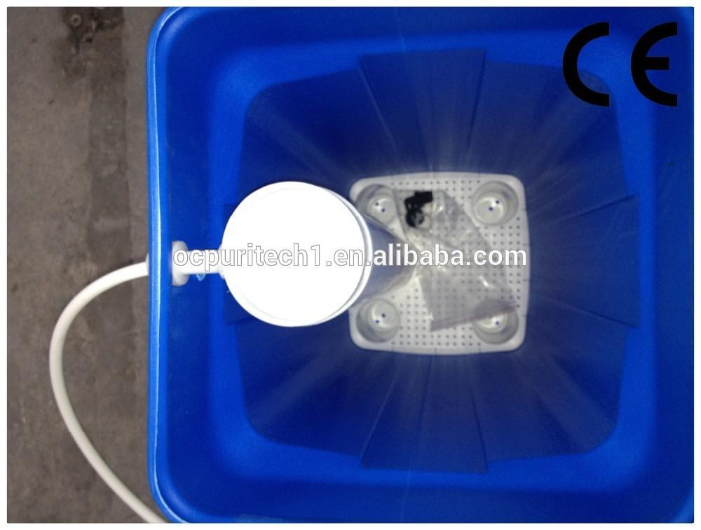 Small water softener for bathroom