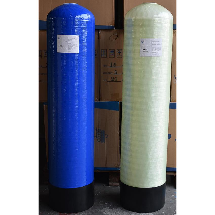water pre treatment frp vessel pentair