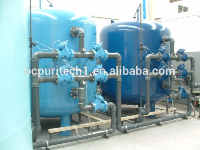 Activated carbon and Quartz sand filter for sale