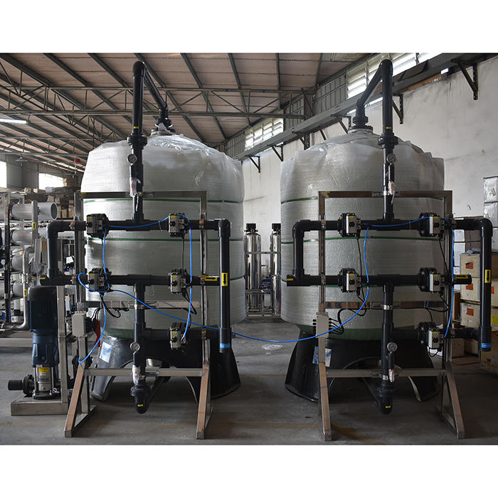 Carbon water filter with Sand Filter for water treatment