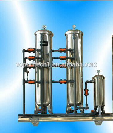 Full stainless steel water pretreatment sand filter and carbon filter