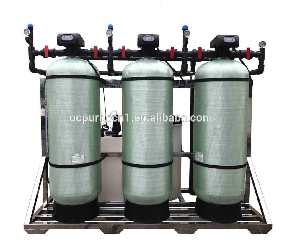 FRP tank Multi medium Filter and Carbon Filter and Water Softener of Reverse Osmosis Water Filter System