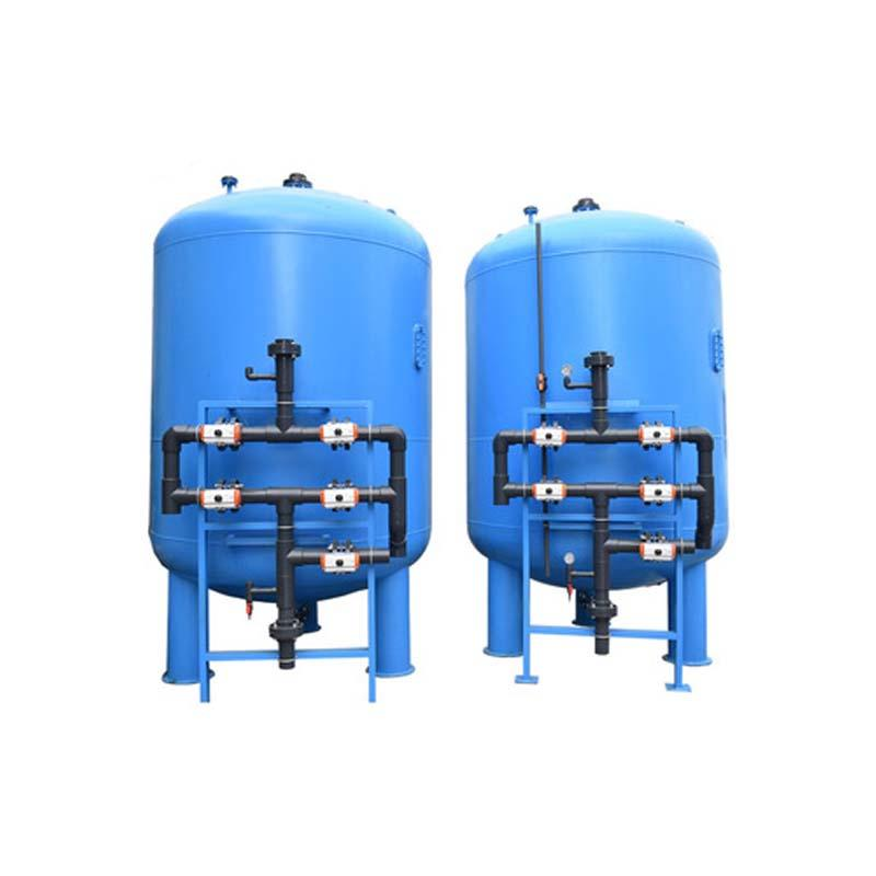30T/Hr Multi-media water filter and carbon water filter and water softener