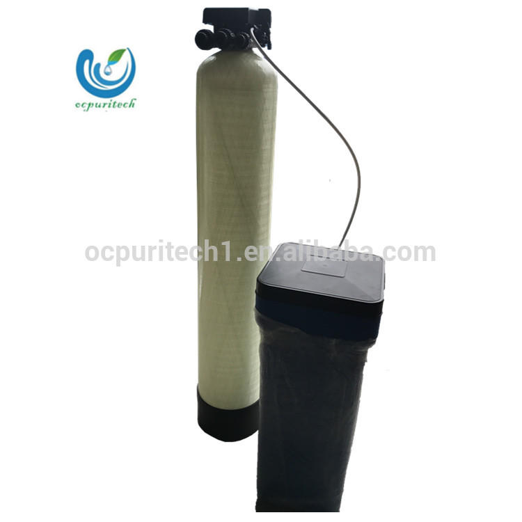 small water softener to treat Hard water boiler Water