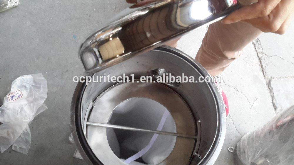 Washable bag filters for water treatment