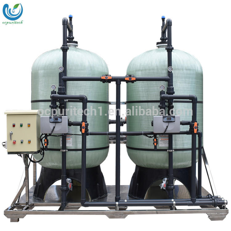 Guangzhou Aomi 10M3/h Pressure Vessel Sand Filter and Carbon Filter