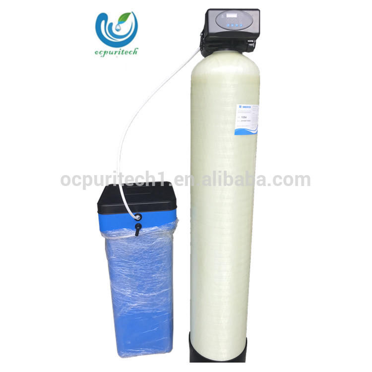 Home used shower water softener