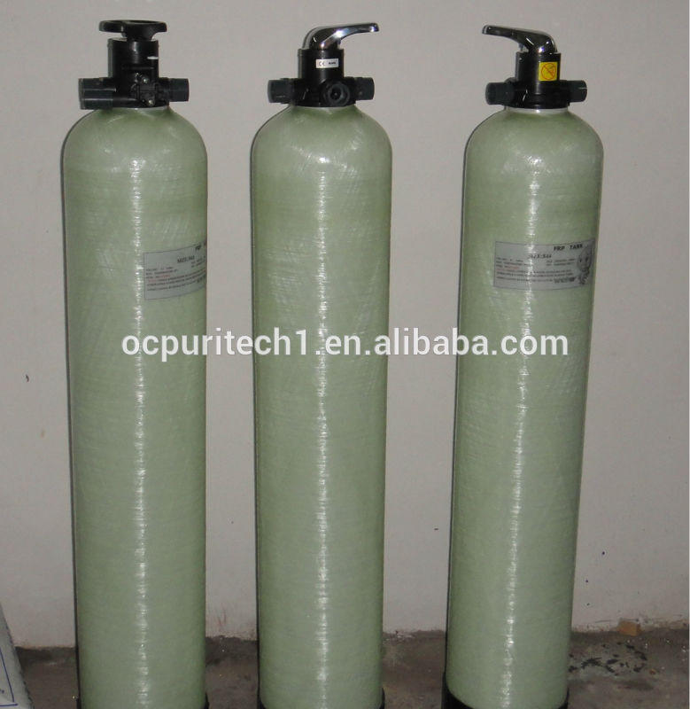 Pretreatment system before ro water machine sand filter tank