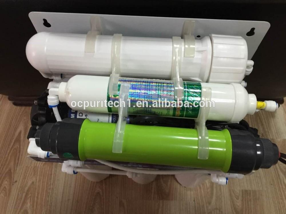 Bore water filter machine with 50GPD with RO +EDI