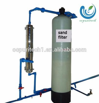 Rapid Sand filter & carbon pretreatment for well water and pool, irrigationsand filter/ underground water filter system