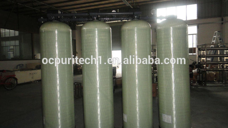 3TPH RO Pretreatment system 1665 water tank for manganese Sand Carbon Softener filter