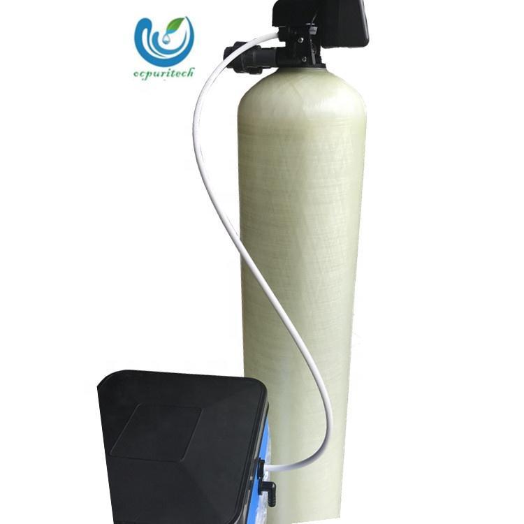 Domestic 500LPH salt regeneration softener for declining water hardness