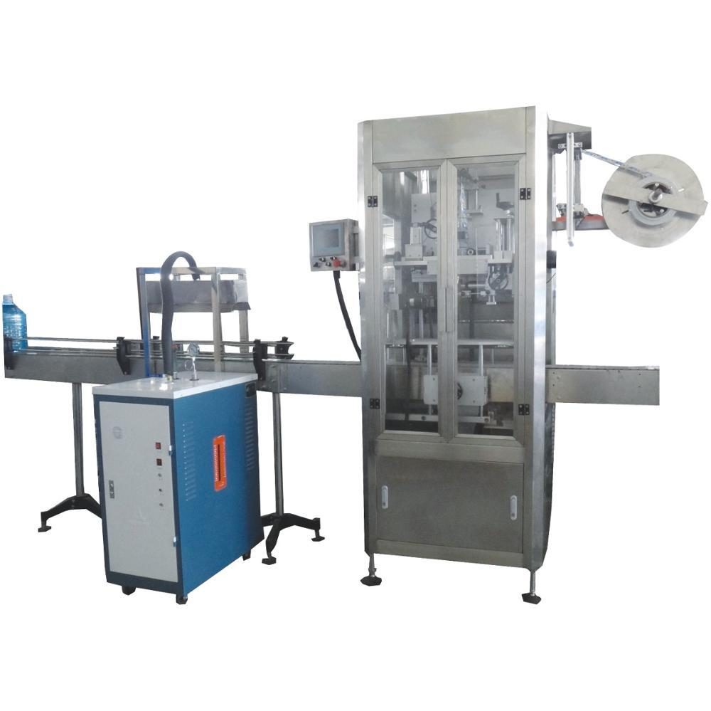Automatic Plastic Bottle Neck Shrink Labeling Machine