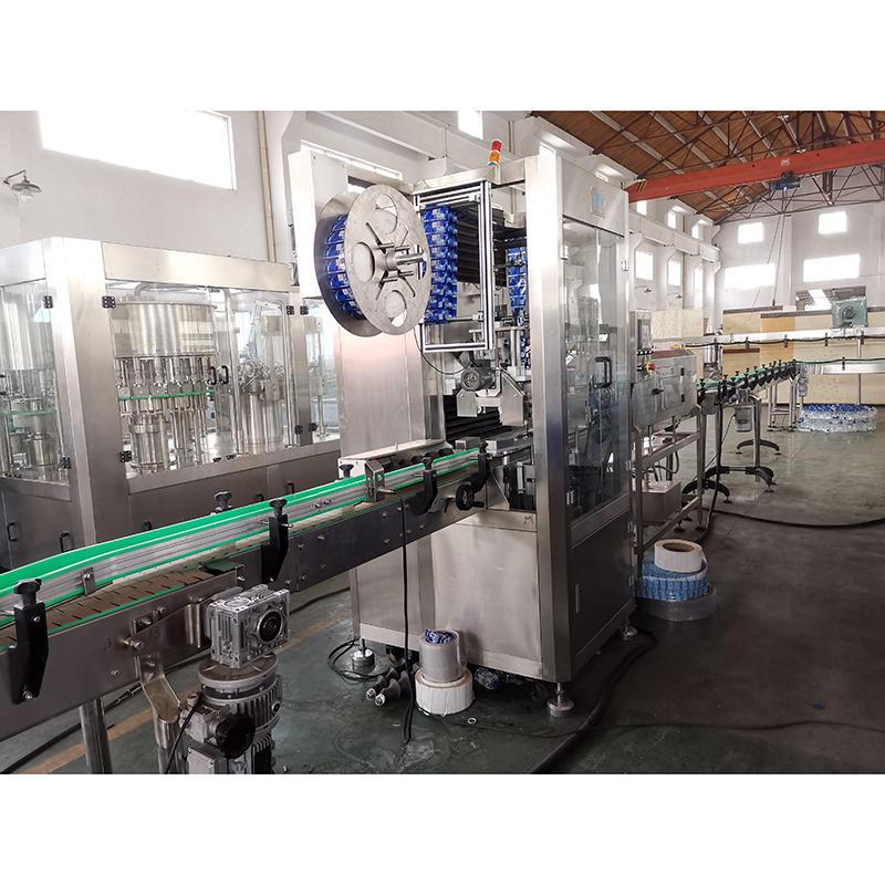 full automatic high speed flat bottle glass jars Bottle pvc Shrink Sleeve Labeling Machine for water bottles