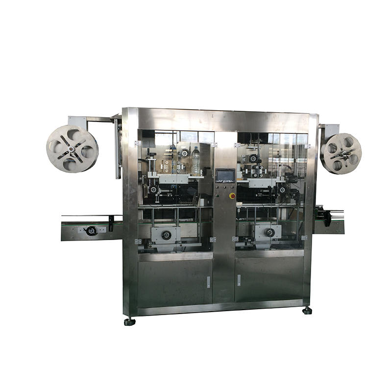 Automatic Bottle Shrink Sleeve Labeling Machine For Round Plastic Glass Bottle