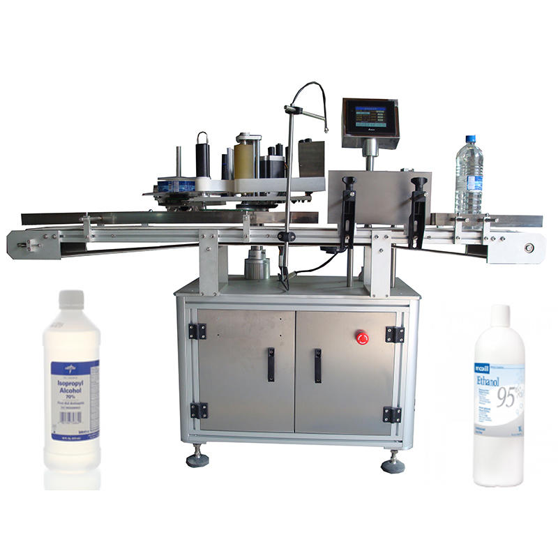 Automatic CEAlcohol Bottle Self Adhesive Labeling Machine For Sale