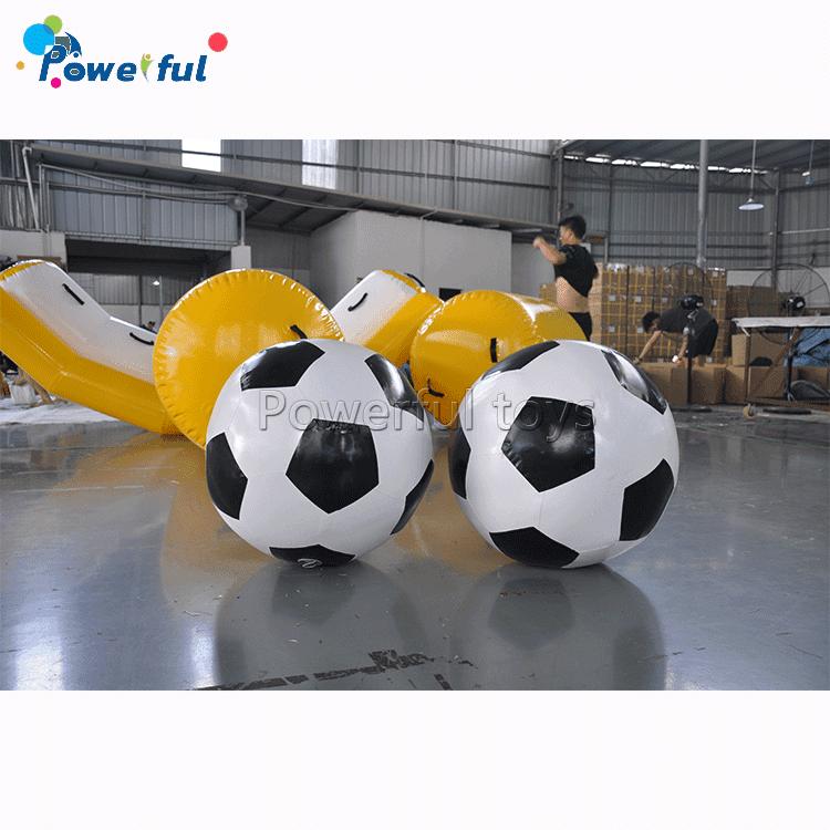 75cmInflatable giant sport games human shootingfootball soccer ball for sale