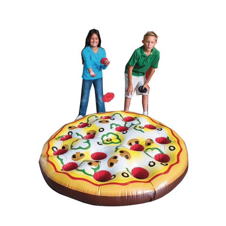 Inflatable ringtoss for outdoor sports