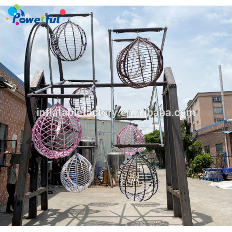 Hot sale amusement equipment heavy duty sky wheel as amusement park rides