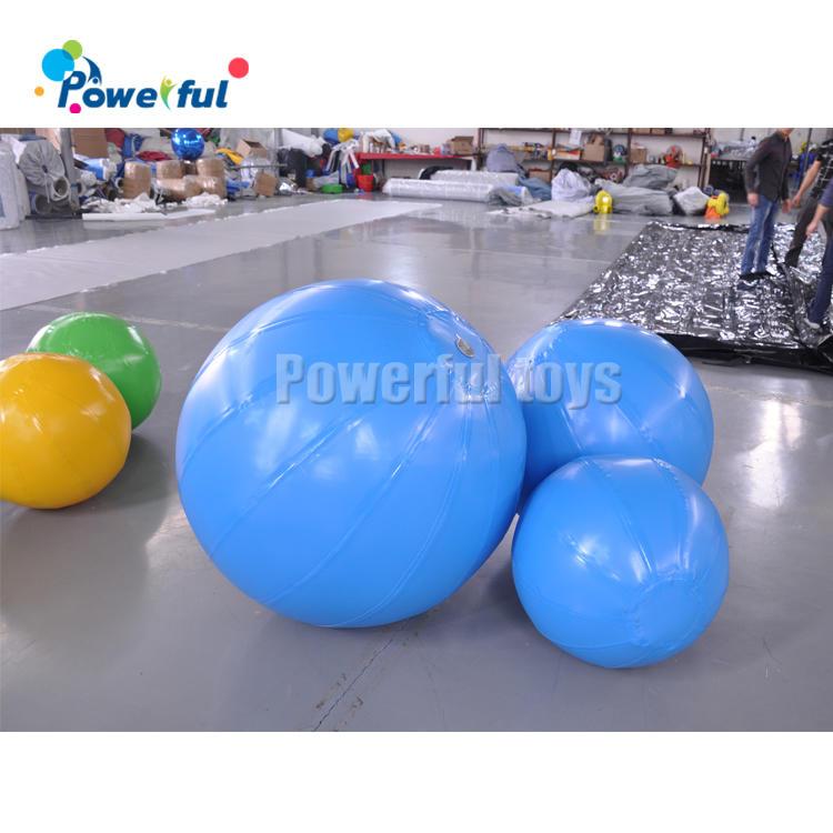Air sealed inflatable ball colorful ballsfor kids play