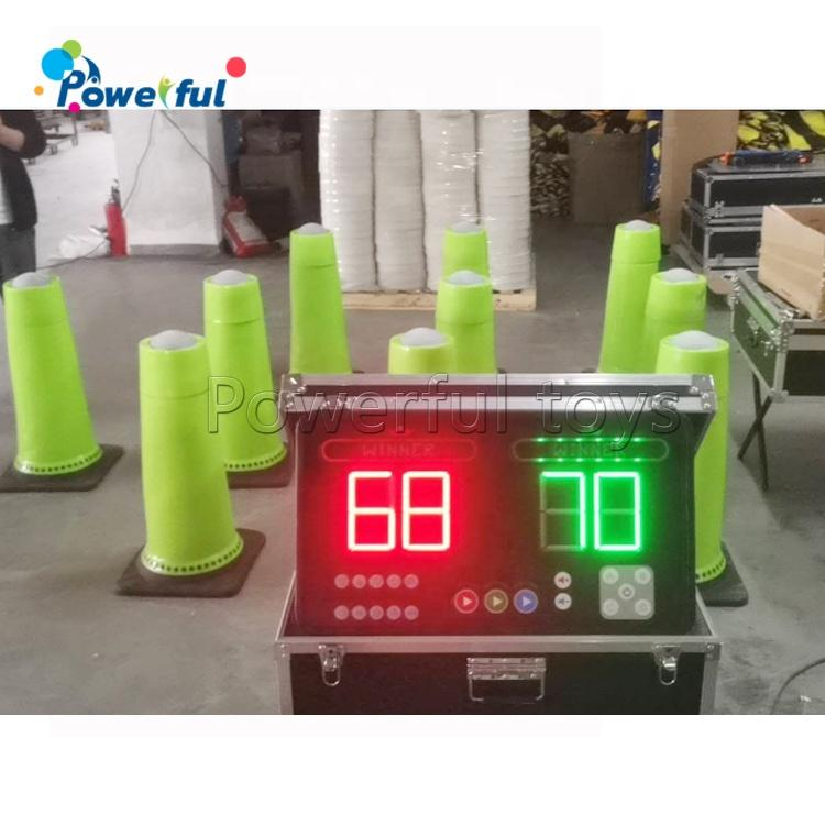 Interactive play system with 10 IPS interactive sport cones