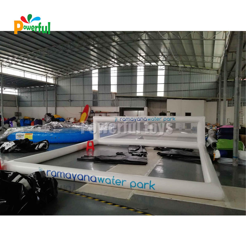 Inflatable Volleyball Court Volleyball Field Team Sports Fun in Water Pool for Beach