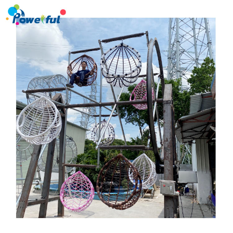 Ferris wheel for outdoor amusement park