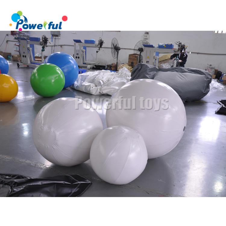Colorful Inflatable Playground Football Balls and KickBall for Kids