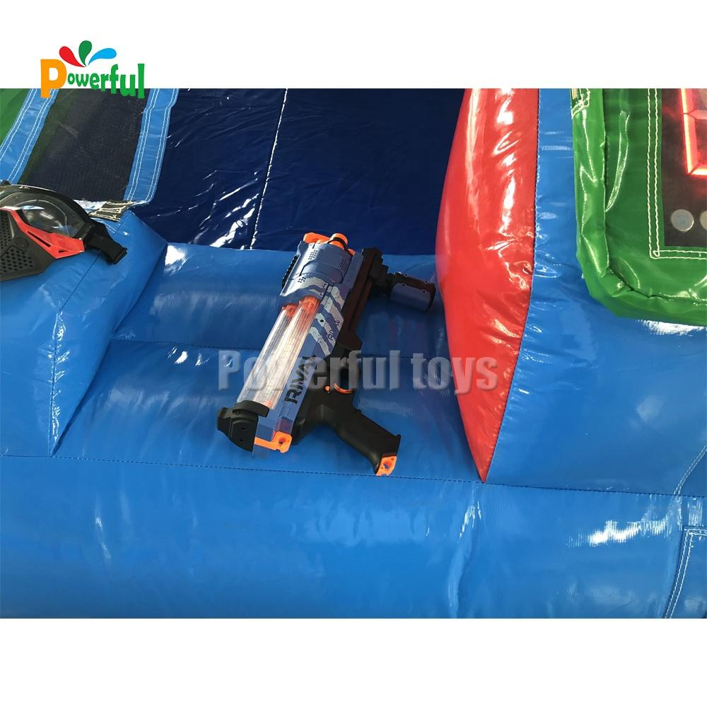 Newest IPS shooting arena Inflatable SHOOTING GALLERY IPS light system interactive game for sale