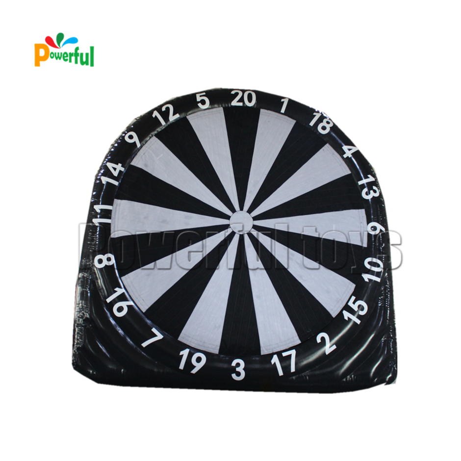 Air-tight Inflatable dart game inflatable soccer dart board