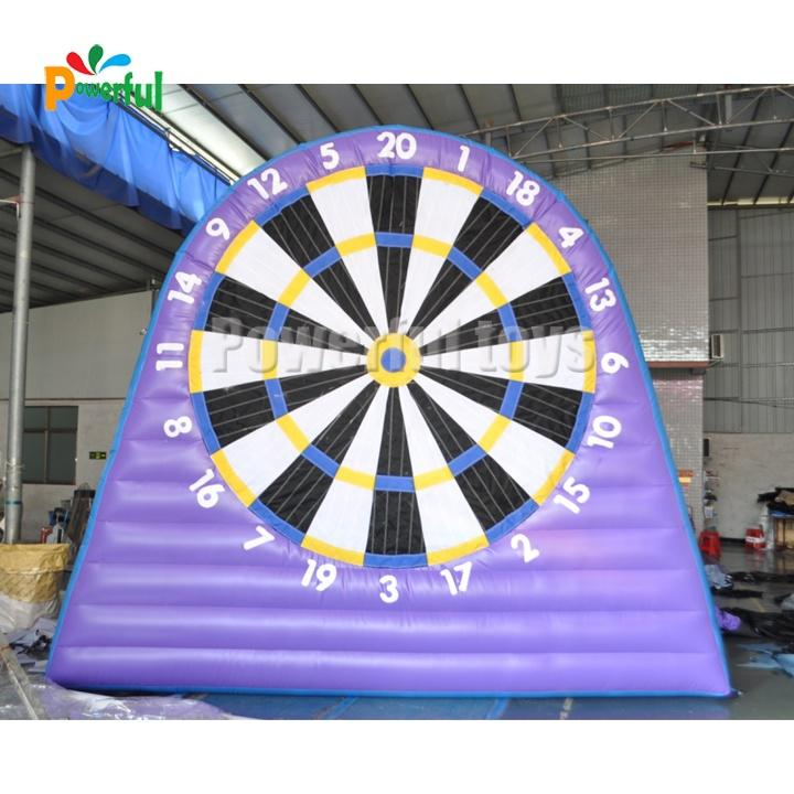 Ready to ship inflatable dartboard,Inflatable soccer dart game,Inflatable foot darts for sale