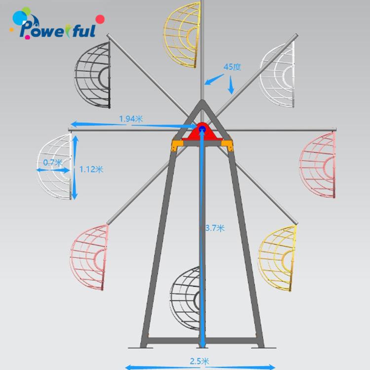 Amusement Ride Mini Ferris Wheel Kids Durable Ferris Wheel For Sale
