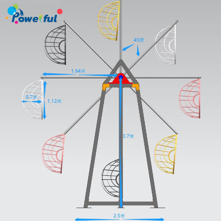 Amusement Ride Mini Ferris Wheel Kids Durable Ferris Wheel For Sale