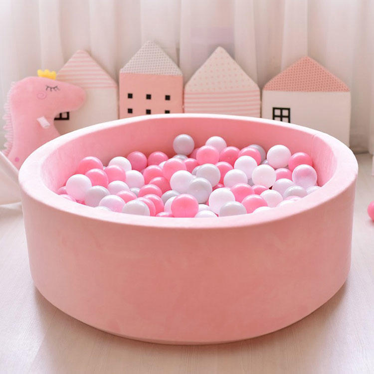 High Quality Baby Flannel Cloth Soft Play Ball Pit Dry Pool With Balls