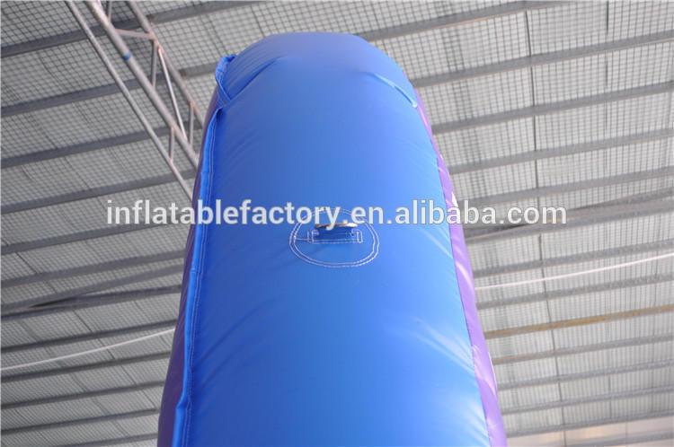 Inflatable soccer shooting target, inflatable football dartboard