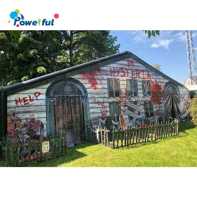 Halloween inflatable haunted house /inflatable haunted maze/inflatable obstacle maze for sale