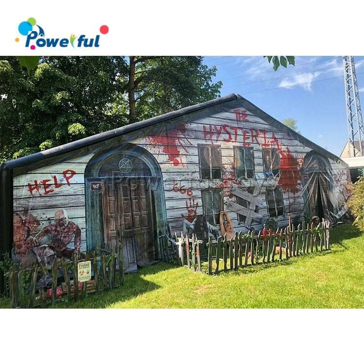 Halloween inflatable haunted house /inflatable haunted maze/inflatable obstacle maze for sale