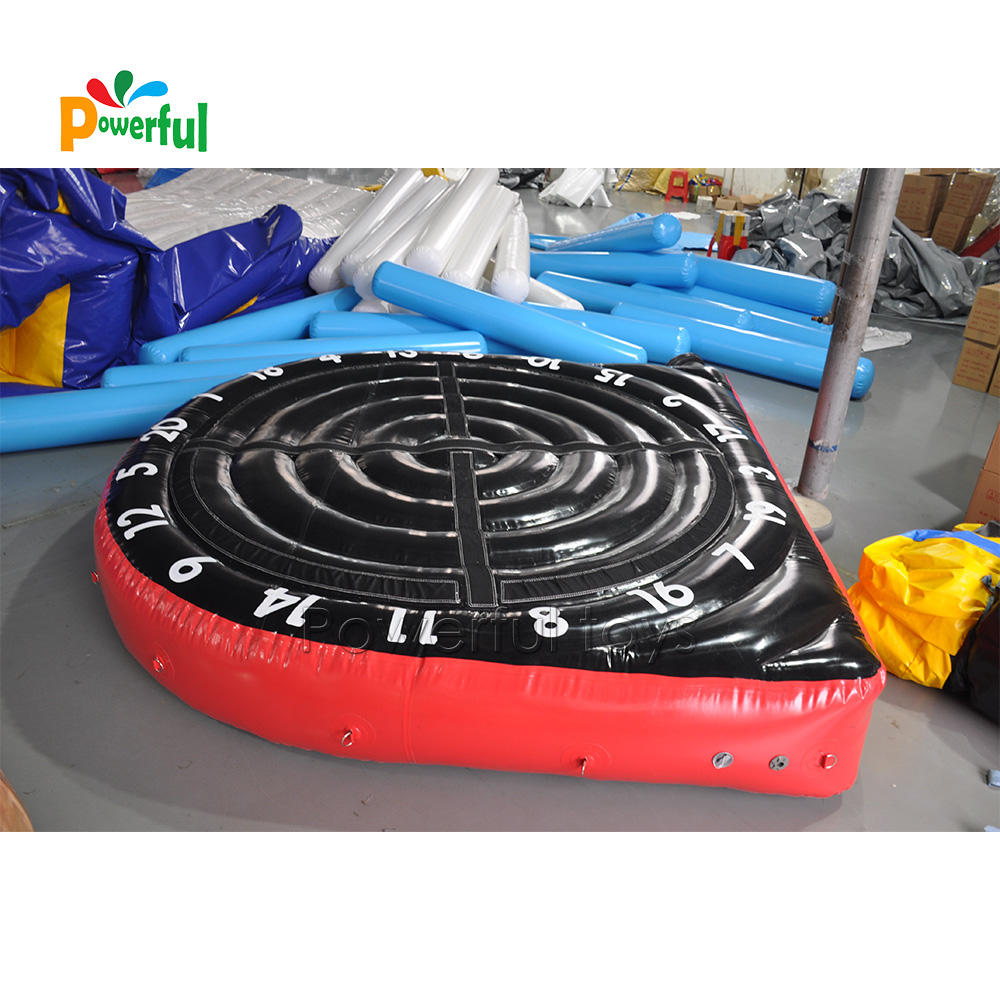 No need continuous inflation inflatable soccer dart board game for sale