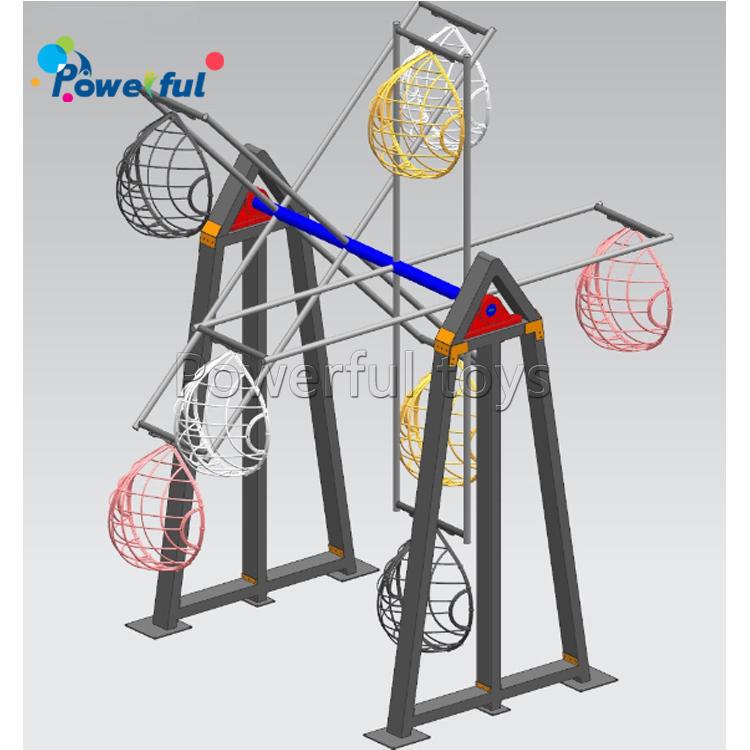 Ferris wheel for outdoor amusement park