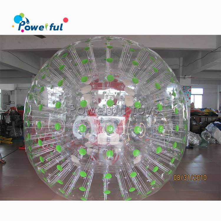 Lawn Giant Hamster Running Ball For Humans Inflatable Ball Person Inside