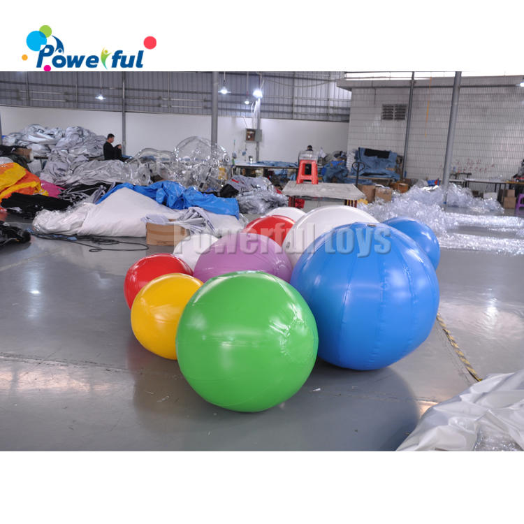 Air sealed inflatable ball colorful ballsfor kids play