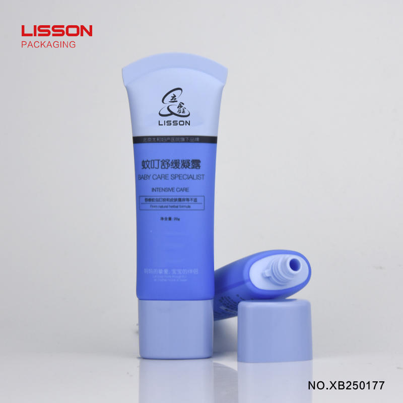 Empty Oval Cosmetic Packaging tube For Sunscreen BB cream foundation super oval PE tube