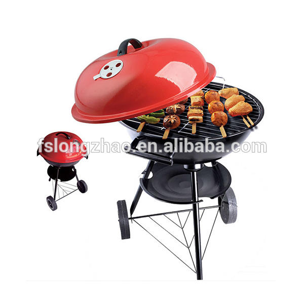 17 inch kettle BBQ Grill /Charcoal kettle Barbecue grill/charcoal bbq grill