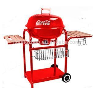 novelty charcoal Barbeque Grill outdoor bbq grill with Wheels