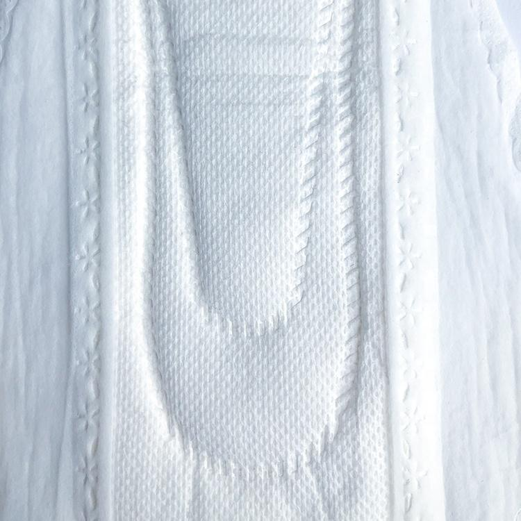 100% organic cotton woman sanitary pad chlorine-free 330 mm feminine pads